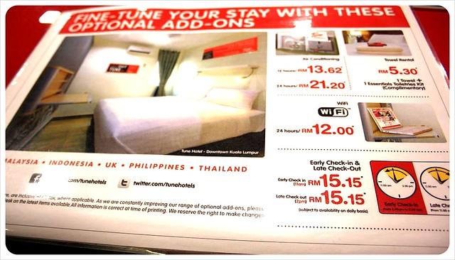 tune hotel kuala lumpur fine-tune options