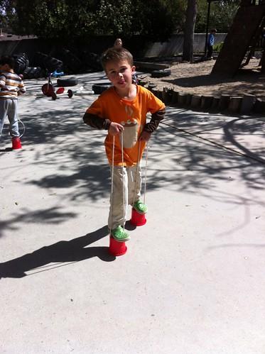 Ezra walking