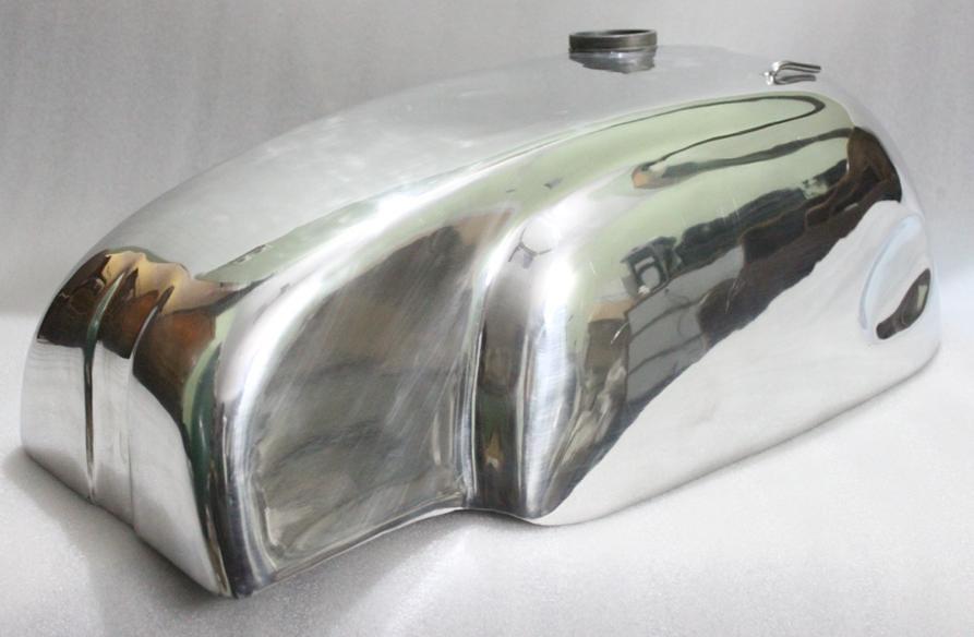 Norton Manx Wideline Featherbed Triton Aluminium Alloy Gas