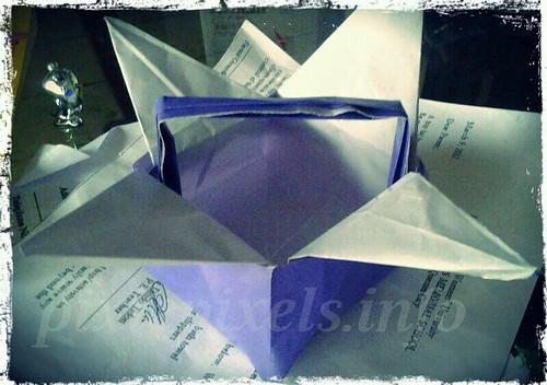 mar21 Origami Basket