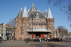 Tour towards the 15th century building of De Waag - Things to do in Amsterdam