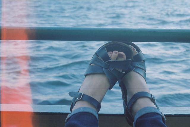 Sydney - on a ferry
