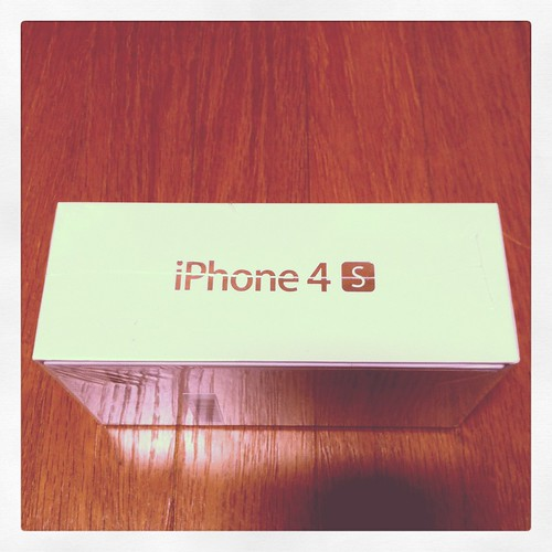 iPhone4Sに機種変更 by ma_osho
