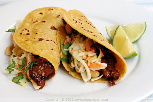 Kung Pao Tacos