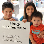 KLRU inspires me to... learn and think more.