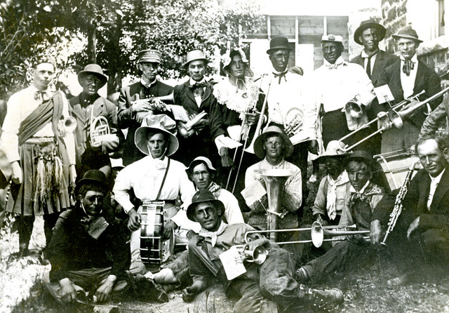 Burton Band Abt 1913