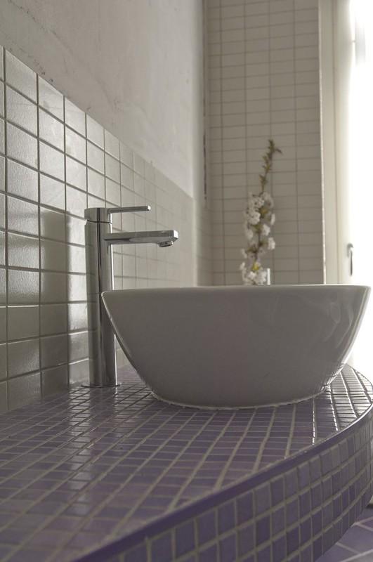 Bagno in muratura idee mammeonline - Lavabo bagno muratura ...