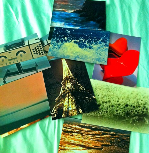 Postcards I made