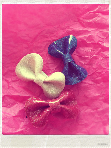 Hair Bows From DollsvilleNYC