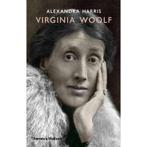 Virginia Woolf book cover, which has a painting of Woolf on the front