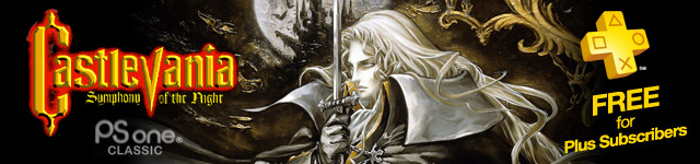 Castlevania: Symphony of the Night: PlayStation Plus