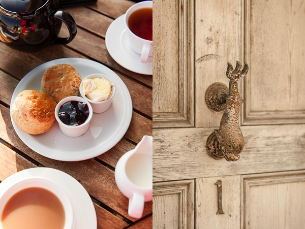 Door And Scones