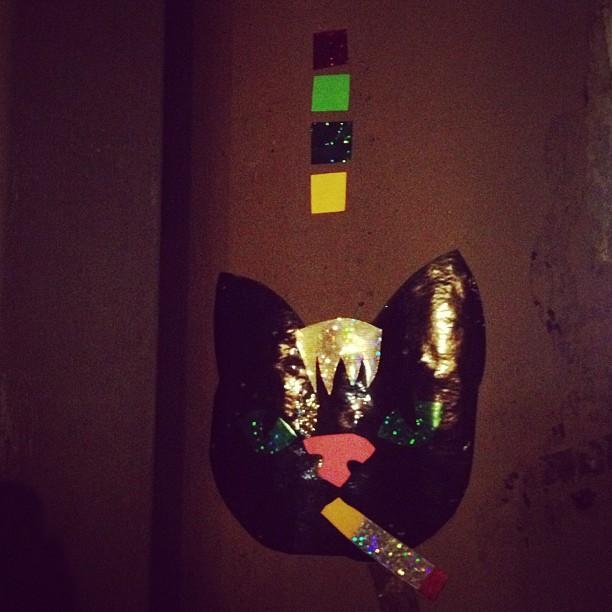 #kittycat #stickers #smokingcat #wild___rebel___night___out #yes