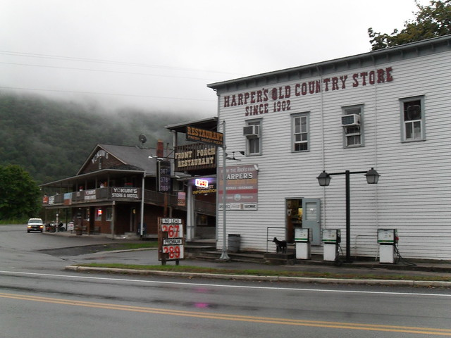 The Harper's Store in Seneca Rocks, West Virginia