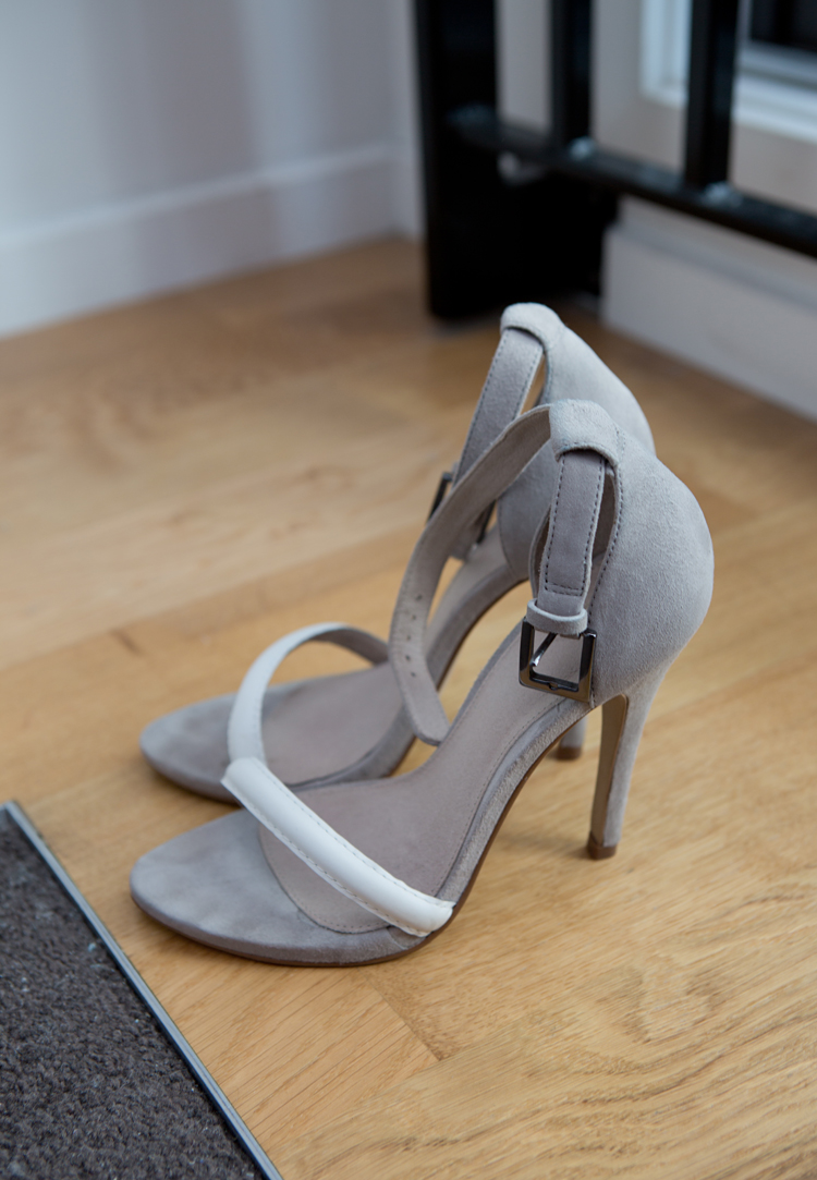ASOS HARLOT Stiletto Leather Sandals