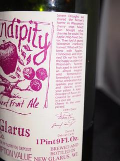 Serendipidity Ale (side label)