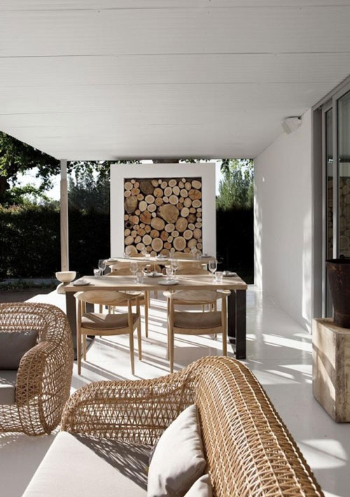 10 of the best outdoor areas the style files - Maison pricila martin gomez ...