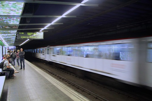 Barcelona metro system