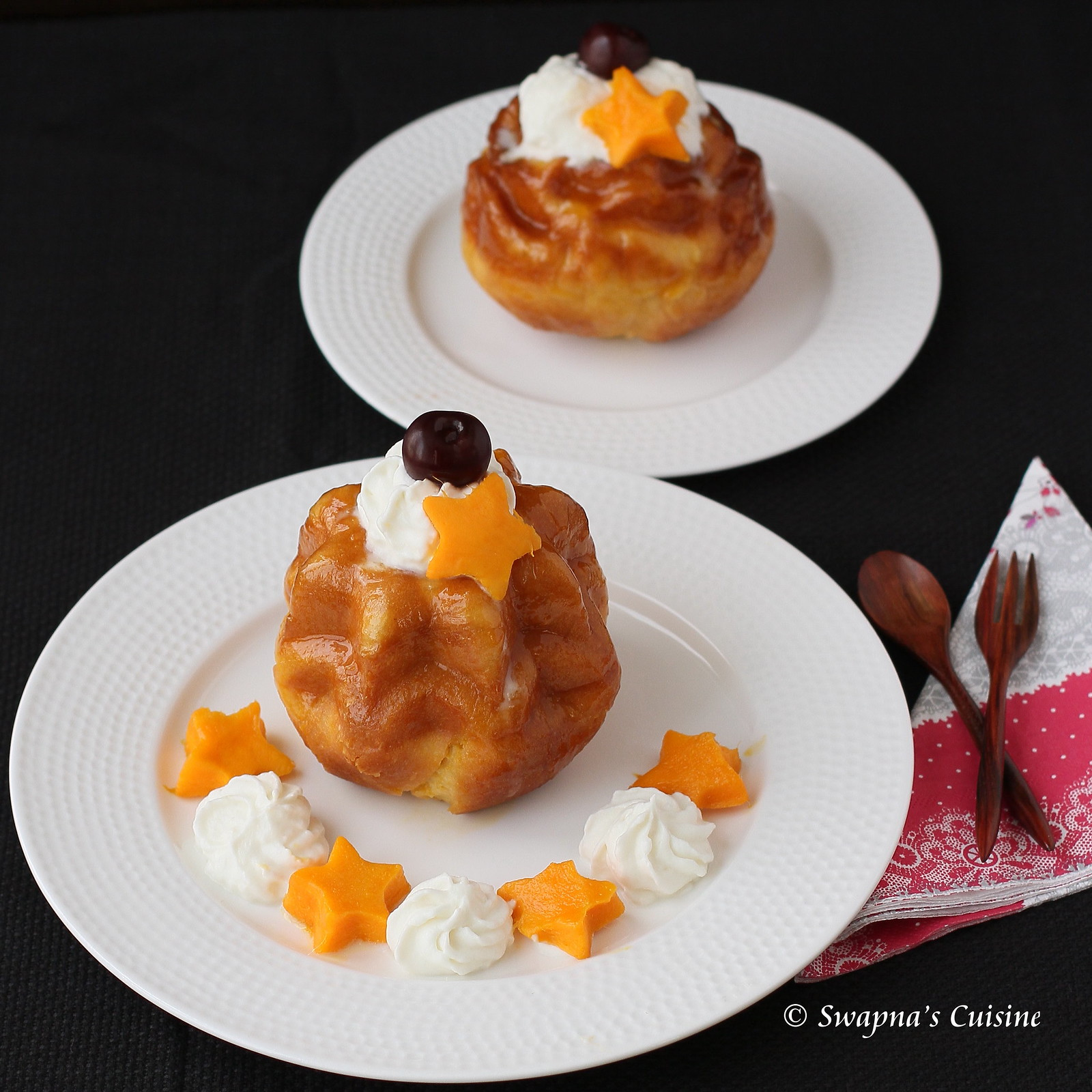 Passion Fruit Flavored Savarin