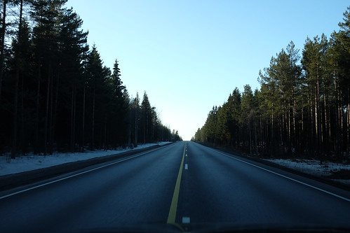 Helsinki to Pori Road, Finland