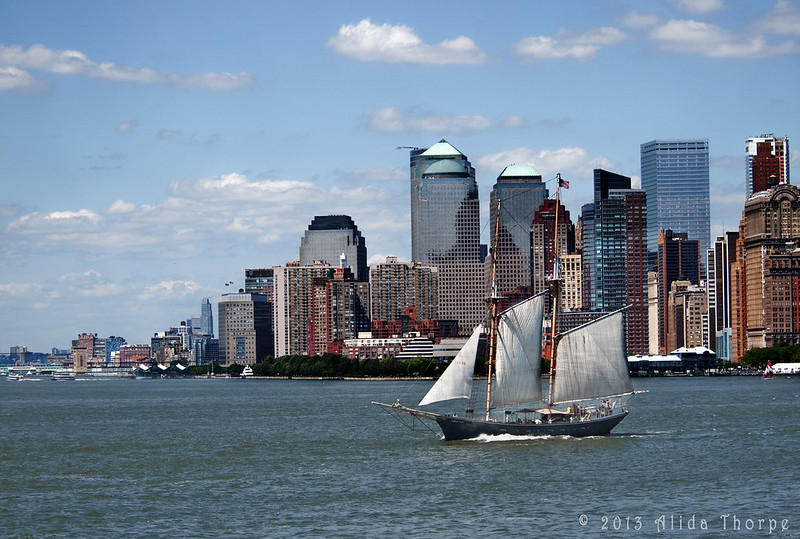 Sailing New York City