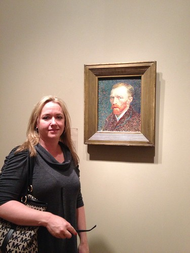 Jaime with Van Gogh