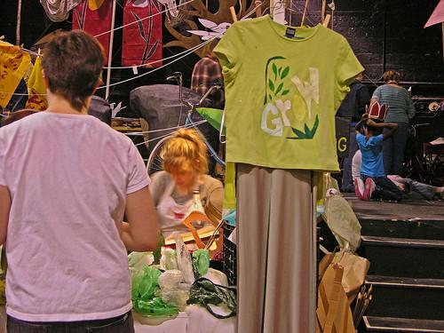 MayDay 2013 t-shirt stenciled