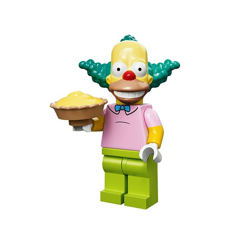 71005 The Simpsons Collectable Minifigures Krusty The Clown