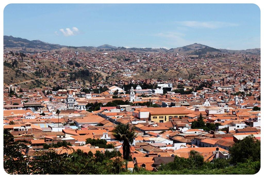 sucre view bolivia