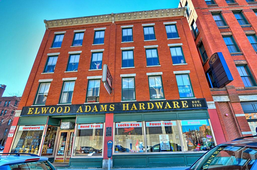 Adams, Elwood Hardware Store