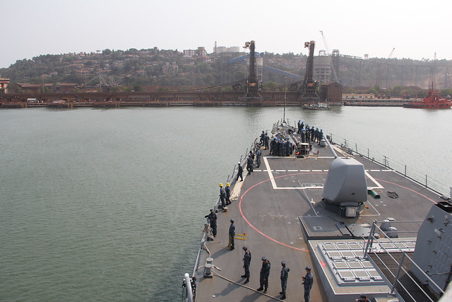 USS O'Kane Visits Goa, India