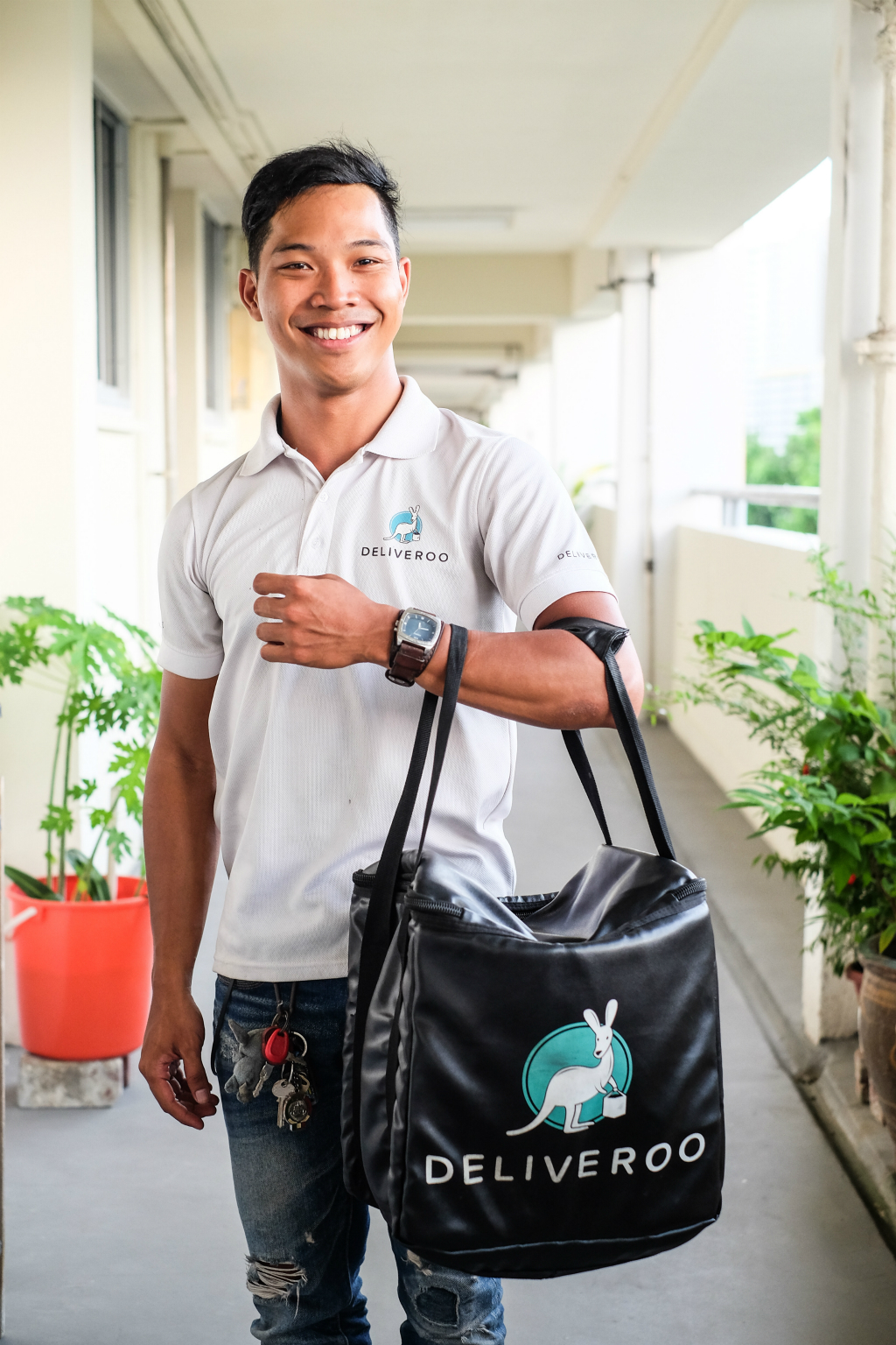 Deliveroo guy