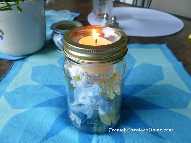 blue candle 2