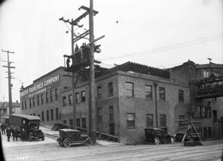 Railroad & Wall, 1927