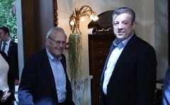 Giorgi Kvirikashvili conducted a meeting with Donald Rumsfeld