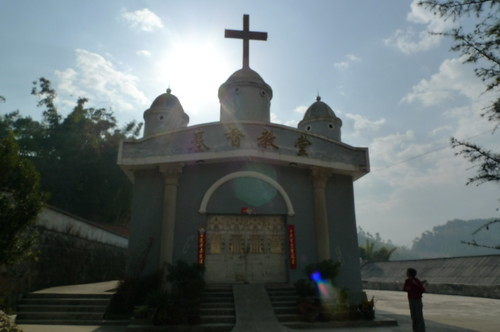 Protestant Church - Lincang, Yunnan, China