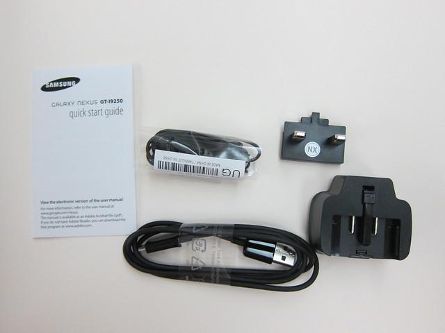 Galaxy Nexus - Box Contents