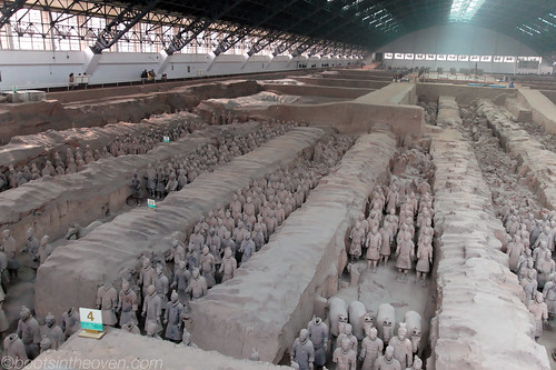 Reconstructed Terracotta Warriors