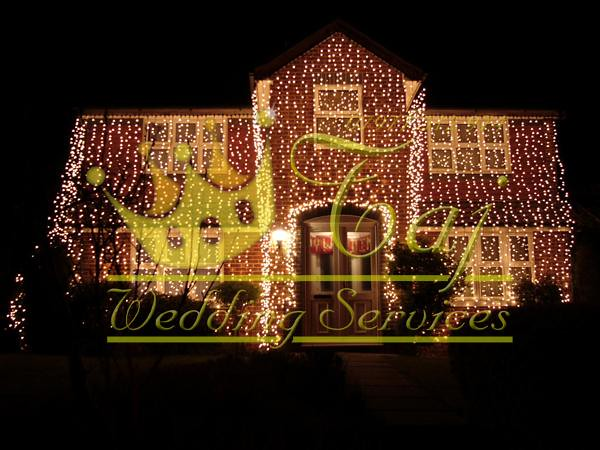 Wedding Decoration Outdoor House Lights Kent