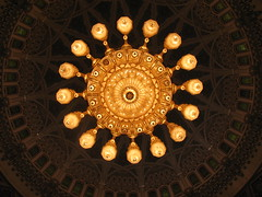 Illuminated chandelier by s_andreja