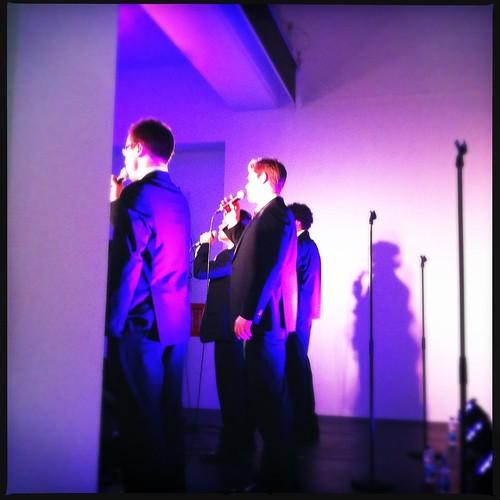 Singers at MAC