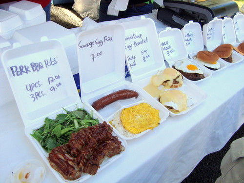North Shore Cattle Catering @ KCC Farmers' Market (Honolulu, HI)