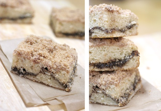 Extra Crumb Streusel-Topped Coffee Cake