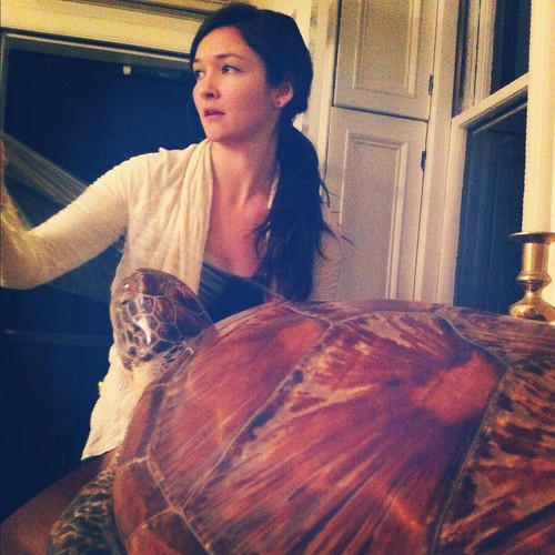 Kristen and Turtle
