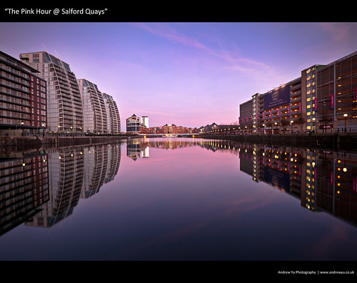 """The Pink Hour @ Salford Quays"""