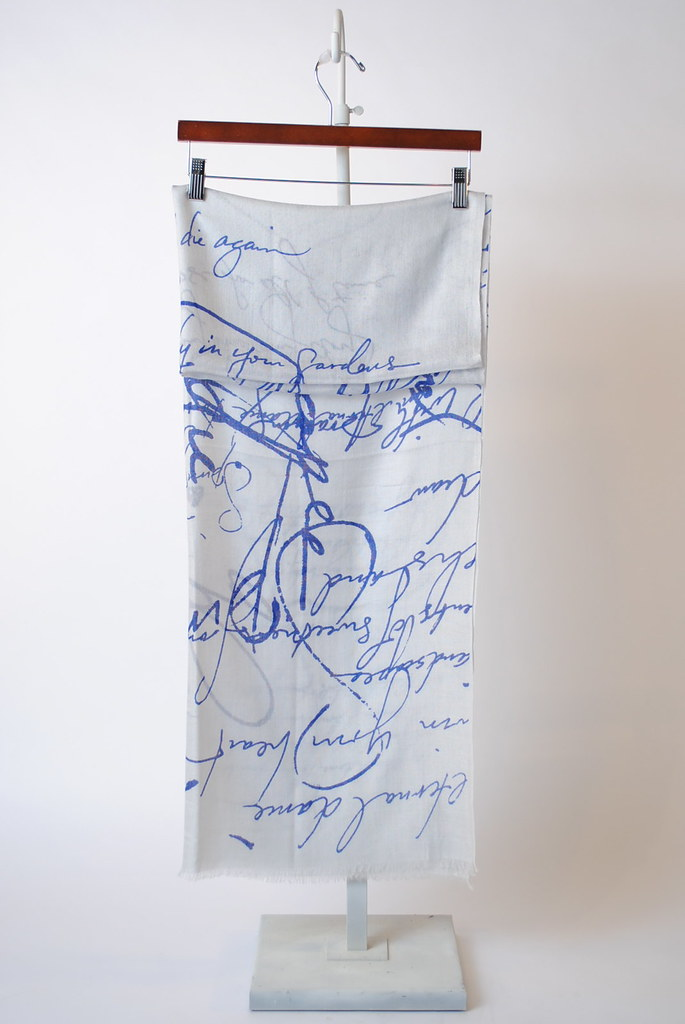 """Spring Poem - Light"" Scarf"