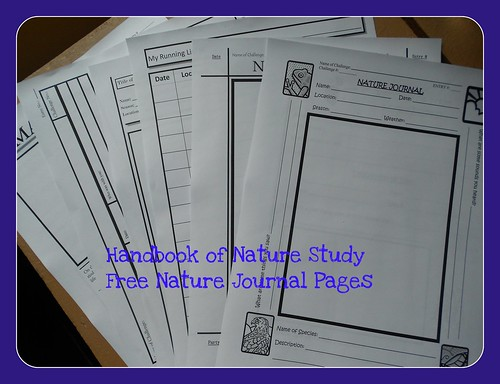 Handbook of Nature Study freebies