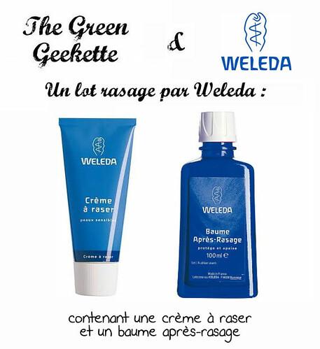 thegreengeekette_concours_weleda