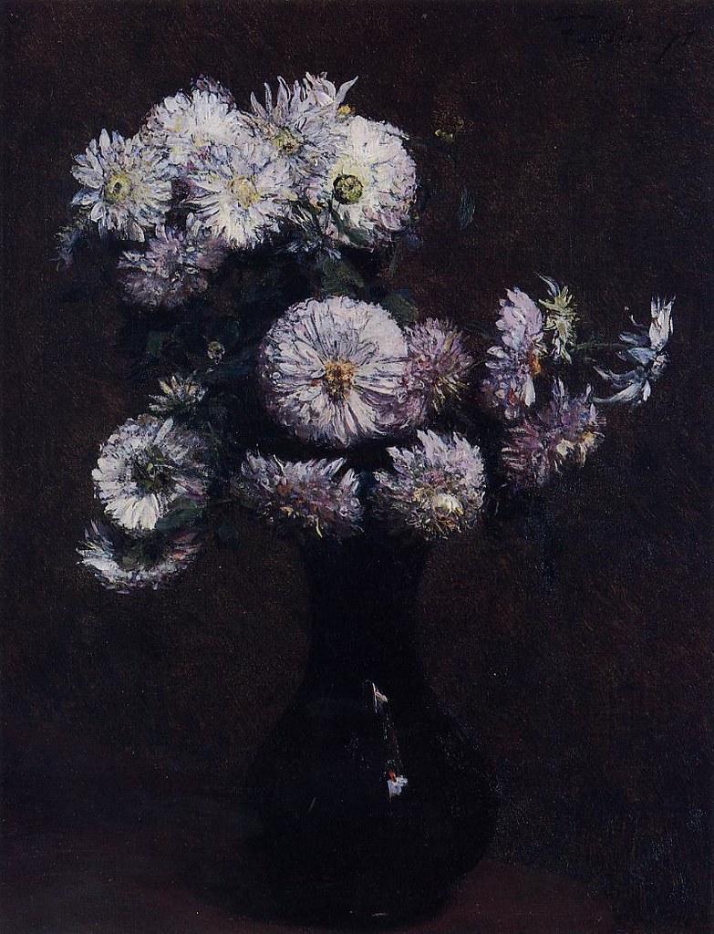 Henri Fantin-Latour, Chrysanthemums, 1871