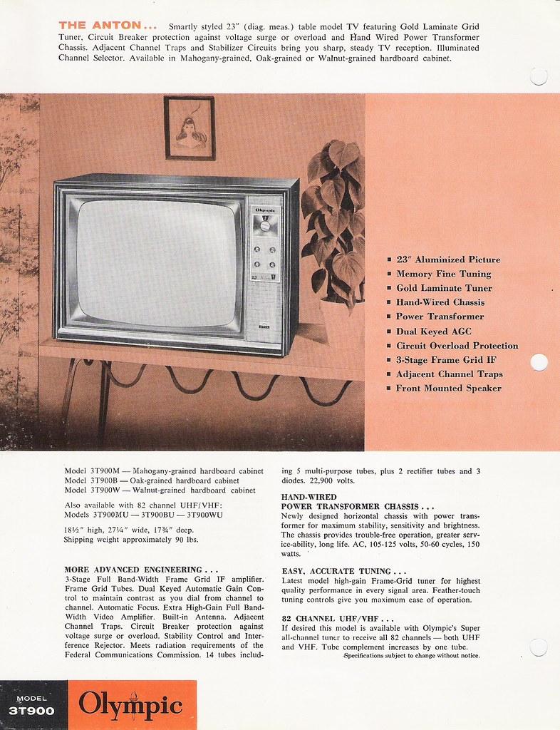 OLYMPIC Radio and Television Dealer Portfolio (USA 1963)_1